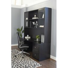 Executive Desk with Hutch and Pedestal