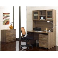 Pro X 3-Piece Standard Desk Office Suite