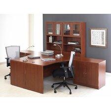 100 5-Piece L-Shape Desk Office Suite