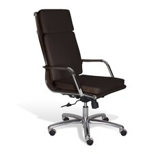 Berg High Back Leather Conference Chair