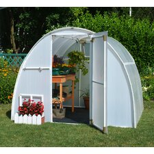 Early Bloomer 8 Ft. W x 8 Ft. D Polyethylene Greenhouse