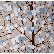 "Lumimarja 33' x 27"" Floral and Botanical Embossed Wallpaper"