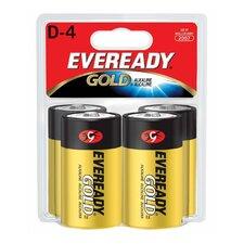 D-Size Alkaline Battery