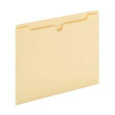 11 pt. Manila Letter Size File Jacket (Set of 100)