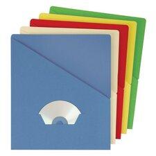 11 pt. Manila Letter Size Slash Jacket File (Set of 10000)