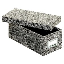 """3"""" x 5"""" Fiberboard Index Card Storage Box (Set of 12)"""