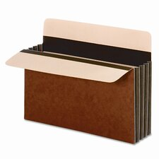 """Globe-Weis Wide 3.5"""" Expansion Accordion Pocket, Letter (10/Box)"""