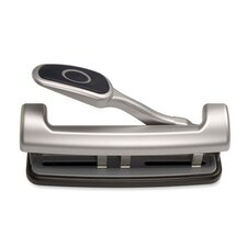 2-3 Hole Puncher, Adjustable,w/ Lever Handle, 15-Sheets  Capacity
