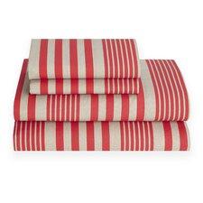 Seaport Stripe 180 Thread Count Sheet Set