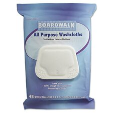 Pre-moistened Personal Washcloths (Pack of 48) (Set of 2)