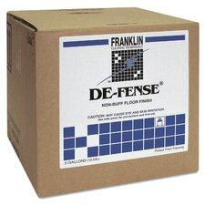 DE-FENSE Non-Buff Liquid Floor Finish - 5 Gallons