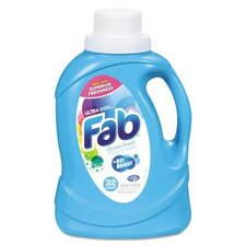 Ocean Fresh Fab Ultra 2X Liquid Laundry Detergent