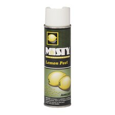 Hand-Held Space Spray Dry Deodorizer Lemon Peel Aerosol Can - 20-oz./ 12 per Case