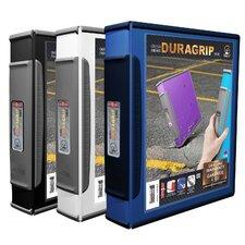 DuraGrip View D-Ring, Hard Poly Binder (Set of 6)
