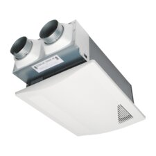 WhisperComfort™ Spot ERV Ceiling Insert Ventilator with Balanced Ventilation and Patent-Pending Capillary Core