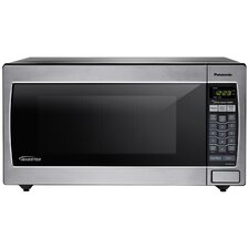 1.6 Cu. Ft. 1250W Countertop/Built-In Microwave in Stainless Steel