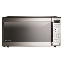 1.6 Cu. Ft. 1250W Countertop Microwave in Stainless Steel