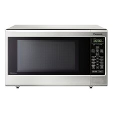 1.2 Cu. Ft. 1200W Countertop Microwave in Stainless Steel
