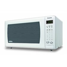 1.6 Cu. Ft. 1250W Countertop Microwave in White