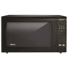 2.2 Cu. Ft. 1250W Countertop Microwave in Black