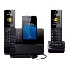 Panasonic Dect 6.0 Plus Link2cell® Bluetooth® Dock-style System with 2 Handsets for Smartphones
