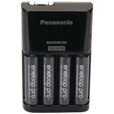 Panasonic4 Position Charger with Eneloop® Xx Aa Battery