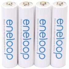 Panasonic Eneloop® AAA Battery, 4 Pack