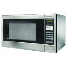 1.2 Cu. Ft. 1200W Countertop Microwave in Grey
