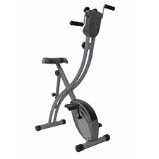 Folding Upright Bike with Arm Exerciser