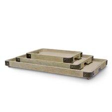 Brockton 3 Piece Tray Set