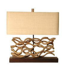 "Vine 20.5"" H Table Lamp with Rectangular Shade"