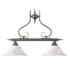 Black Forest 2 Light Kitchen Island Pendant