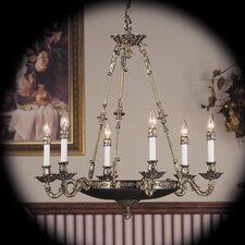 Napoleonic 6 Light Dining Chandelier
