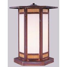 Etoile 1 Light Outdoor Post Lantern