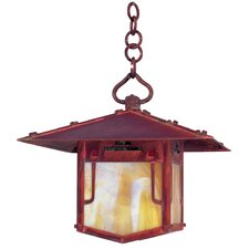 Pagoda 1 Light Outdoor Hanging Lantern