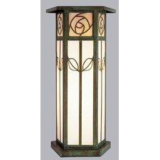 Saint Clair 1 Light Outdoor Column Mount Lantern