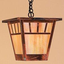 Savannah 1 Light Outdoor Hanging Lantern