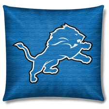 NFL Detroit Lions Throw Pillow