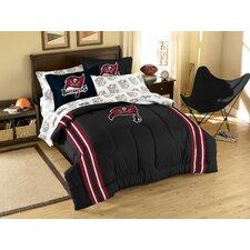 NFL Buccaneers 7 Piece Full Bed in a Bag Set