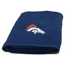 NFL Broncos Applique Beach Towel