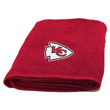 NFL Chiefs Applique Beach Towel