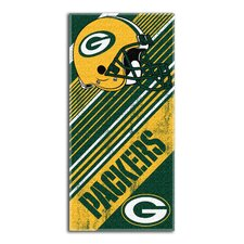 NFL Packers Diagonal Beach Towel