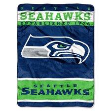 NFL Seahawks 12th Man Raschel Throw