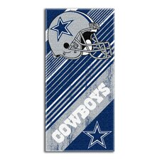 NFL Cowboys Diagonal Beach Towel