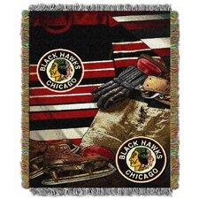 NHL Blackhawks Vintage Throw Blanket
