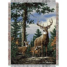 Entertainment Tapestry Hautman Brothers King Stag Throw Blanket