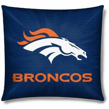 NFL Denver Broncos Throw Pillow