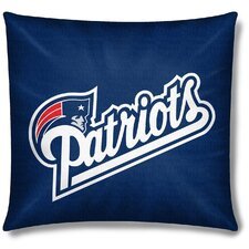 NFL New England Patriots Cotton Throw Pillow