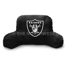 NFL Oakland Raiders Cotton Bed Rest Pillow