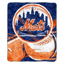 MLB New York Mets Sherpa Big Stick Throw